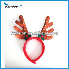 Non-woven Animal horn Cheap Party Headband For sale