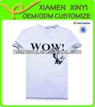 Custom High quality Printing bulk white t shirts