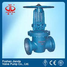 Stainless steel fluorine lined stem gate valve