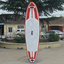 2015 fashionable with fish tail inflatable paddle board with high quality