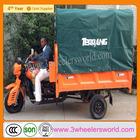 motos cargueros trimotos de carga 250cc water cooling with automatic hydraulic dumping