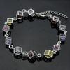 2014 Fashion 925 sterling silver jewelry Zircon Bracelets for Lady BSS-002