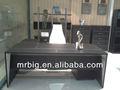 Muebles modernos, tabla de cuero, nuevo diseño de escritorio de pt-52