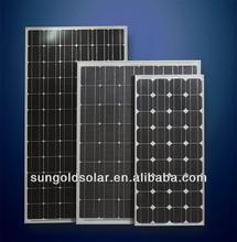 High efficiency lower price mono pv solar panel cell solar