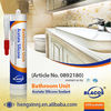 MultiPurpose, Quick Curing 100% Mildewproof Silicone Sealants