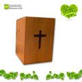 rosewood madeira plano embalado grosso tecido adulto bebê dia dos mortos acessórios funeral home pewter urns da cremação