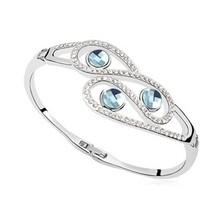 n11027) wholesale charm women's rhinestone expandable bangle