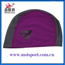 2015 adult lycra swimming caps hot sale