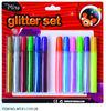 2014 wholesale glitter glue 11ml manufacturer dance glitter glue