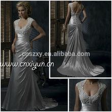 2013 New Model Wedding Dress Keyhole Back -- HS174