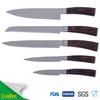 Japanese 5pcs Damascus knife rubber cutting kitchen knife