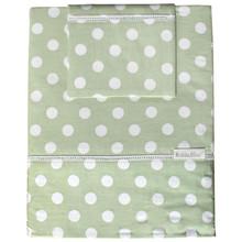 Top quality comfortable 100%cotton cot sheet sets