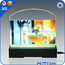 custom counter top commercial advertisement acrylic LED display&custom LED displays