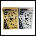 banhado a ouro jogando cartas de comércio por grosso de ouro cartões de pokemon trading cards
