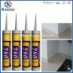 roof caulking acrylic sealant,100%flexible,good quality,gold supplier