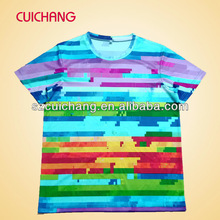 all over sublimation printing t-shirt low price