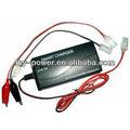 2.4 - 7.2 V / 0.9 ou 1.8A Ni MH / Ni Cd carregador de bateria eletrônica