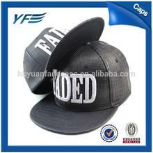 2015 new blank snapback hats wholesale leather snapback hats custom