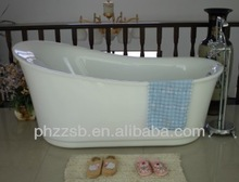 BESMA Portable Freestanding Custom Size Plastic Bathtub for Adult;cheap acrylic bathtub B-7204
