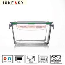 Borosilicate seal air tight container
