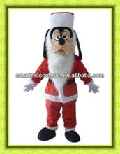 adult Christmas dog mascot costume
