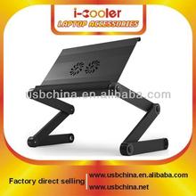 Worlds Best Lap Desk - Ergonomic Aluminum Laptop Cooling Stand adjustable couch