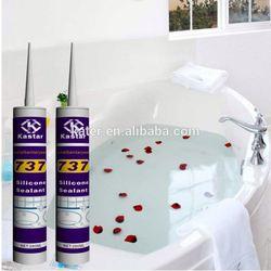 Bathroom neutral aquarium silicone sealant