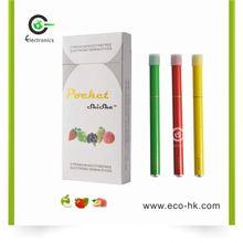 Hot selling Various flavor 500 puffs disposable shisha pen ego c twist