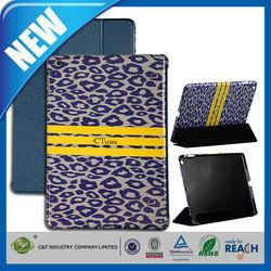 C&T C.tunes leopard design stand flip leather case for ipad air