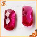 Atacado solto lab criado pedra preciosa 5 # preço rubi