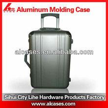 Molded aluminum waterproof luggage case