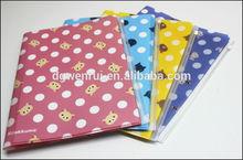 Hot selling A4 PP Pocket file folder/pocket dividers export to Japan market