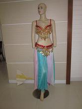 red Tribal Belly Dance wear (XF-032)