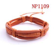 2013 bracelets leather wholesale china supplier