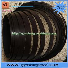 "Best price high gloss furniture 15/16"" black PVC edge banding"