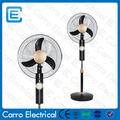 caliente venta elegante 16 pulgadas o 18 pulgadas recargable del ventilador de enfriamiento de la batería operado ventilador de recarga