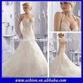 新しいデザイナーのalibabaのwe-28542015ジュリーヴィーノのウェディングドレスのウェディングドレス中国製