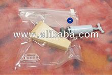 """Copri' """" il Salvafreschezza """" 6 pz. + pompetta, reusable vacuum food bags kit with pump"""