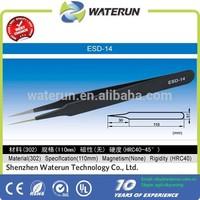 ESD-14 antistatic stainless steel vetus tweezers