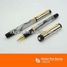 Ttx-e17r cromo brilhante acrílico caneta clássica