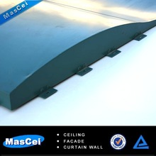 Aluminum special shape insulated interior wall panel