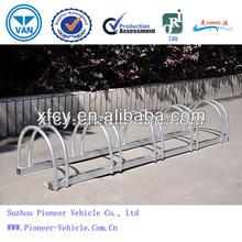 2014 Hot Sale Zinc Coated Floor Mounted Bike Rack/Stand (ISO Certified)