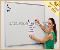 China economic wall mounted aluminum frame magnetic school whiteboard