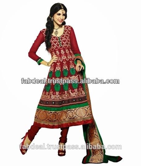 See larger imageDesigner Salwar Kameez Anarkali Style