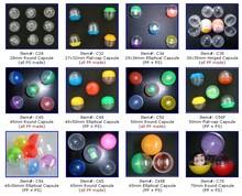 Vending Machine Plastic Capsules
