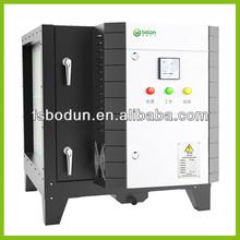 Aceite de cocina de humo sistema de ventilación para catering industria