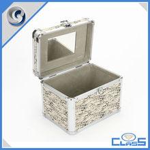MLD-CC409 Heavy Duty Durable Fashion Beauty Make Up Aluminum Jewelry Display Box