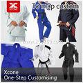Jiu jitsu gi judo terno/uniformes tecer único com cintos