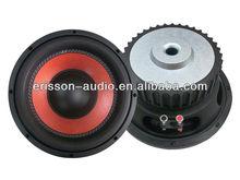 ED1010 professional 10 inch 200w car audio subwoofer