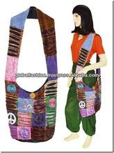 2014 wholesale fashion canvas bags designer ladies handbags cross body bag
